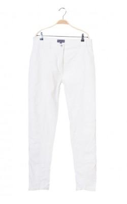 Pantaloni albi de in Mira Mia, marime 40