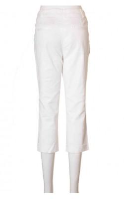 Pantaloni albi Lindex, marime 36