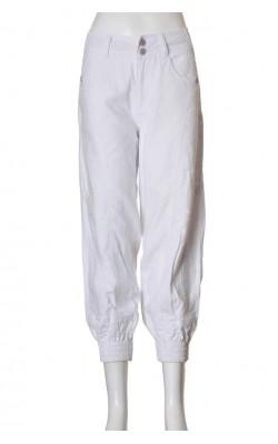 Pantaloni albi Mapp Jeans, marime 38