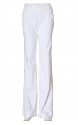 Pantaloni albi Old Navy, marime 38