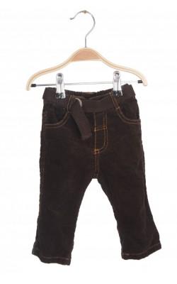 Pantaloni Baby by Lindex, velur, 2-4 luni