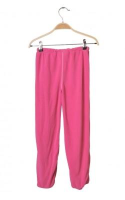 Pantaloni Battle Culture Official, fleece roz, 7-8 ani