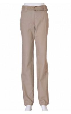 Pantaloni bej amestec in H&M, marime 40