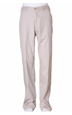 Pantaloni bej chino Cubus, marime 34