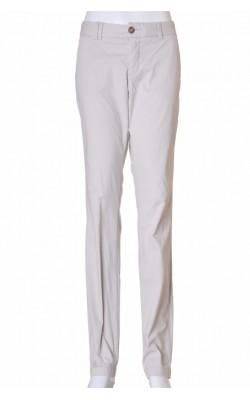 Pantaloni bej din bumbac H&M L.o.g.g., marime 38
