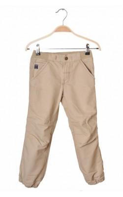 Pantaloni bej pull-on Polarn O.Pyret, talie ajustabila, 5 ani