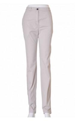 Pantaloni bej slim fit H&M, marime 42
