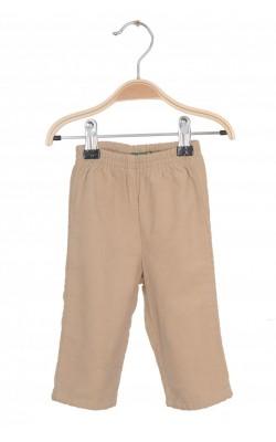 Pantaloni Benetton, velur captusit, 6 luni