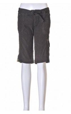 Pantaloni casual sport Bershka, velur, marime 36