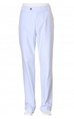 Pantaloni bleu din bumbac Brooks Brothers, marime 35