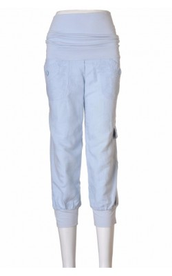 Pantaloni bleu gravide Mango, marime M