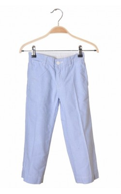 Pantaloni bleu Ralph Lauren, talie ajustabila, 4-5 ani