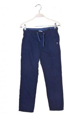 Pantaloni bleumarin cu captuseala jerseu H&M L.o.g.g., 8 ani