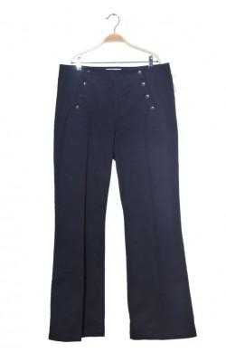 Pantaloni bleumarin H&M L.o.g.g., marime 46