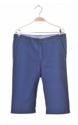 Pantaloni bleumarin H&M, talie ajustabila, 12-14 ani