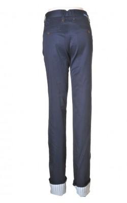 Pantaloni bleumarin Homini Emerito by Mango, marime 40