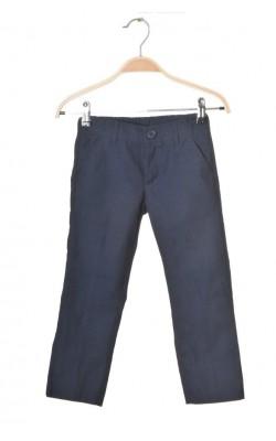 Pantaloni bleumarin Kids by Lindex, talie ajustabila, 4-5 ani