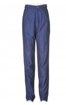 Pantaloni bleumarin Levi's, stofa lana, marime 34