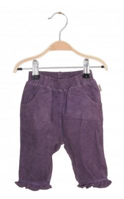 Pantaloni BombiBitt, velur captusit, 0-1 luni