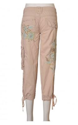 Pantaloni brodati Miss Me, marime S