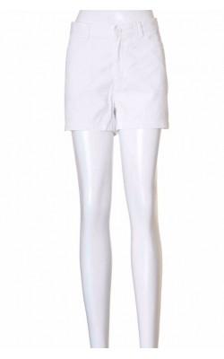 Pantaloni bumbac alb Jean Paul Femme, marime M