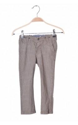 Pantaloni bumbac H&M, talie ajustabila, 1.5-2 ani