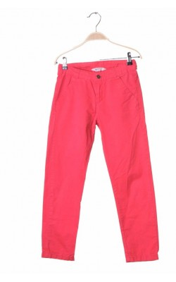 Pantaloni bumbac H&M, talie ajustabila, 9-10 ani