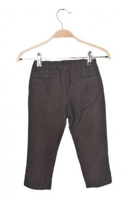 Pantaloni bumbac H&M, talie austabila, 18-24 luni