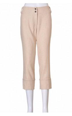 Pantaloni By Groth, stofa lana si matase, marime 42