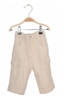 Pantaloni velur captusit Campus, 9 luni