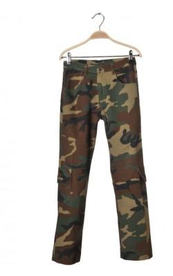 Pantaloni camuflaj Quesada Jeans, 12 ani