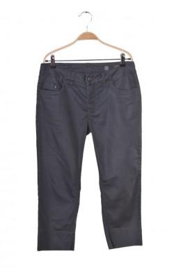 Pantaloni capri Cream, culoare gri, marime 40