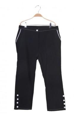 Pantaloni capri Daxon, marime 42