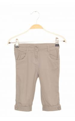 Pantaloni capri kaki deschis C&A Palomino, talie ajustabila, 4 ani