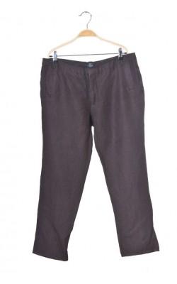 Pantaloni capri panza de in si vascoza Tara, marime 42