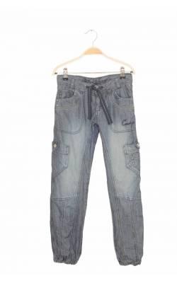 Pantaloni captusiti din denim KappAhl, cordon talie, 10 ani