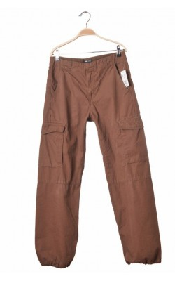 Pantaloni cargo din bumbac H&M L.o.g.g., 12-13 ani
