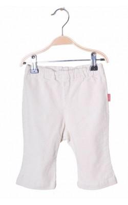 Pantaloni catifea reiata H&M L.o.g.g., 4-6 luni