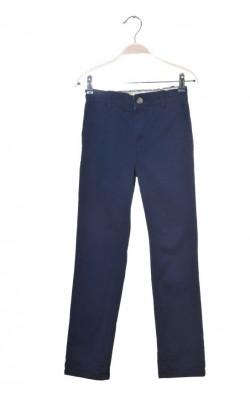 Pantaloni chino bleumarin Cubus, talie ajustabila, 11 ani