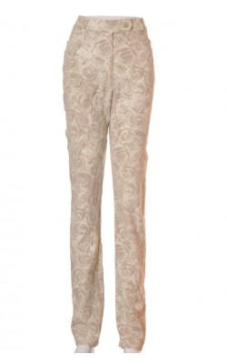 Pantaloni Claire, print floral, marime 40