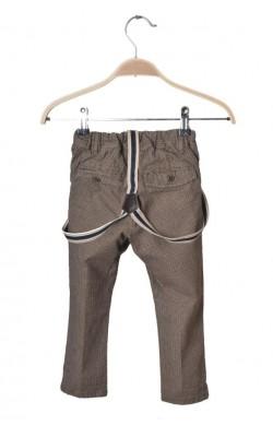 Pantaloni cu bretele H&M, 12-18 luni