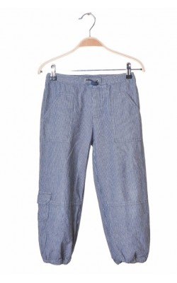 Pantaloni cu dungi pull-on Wheat, 5-6 ani