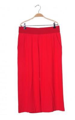 Pantaloni culotte din jerseu rosu Brandtex, marime L