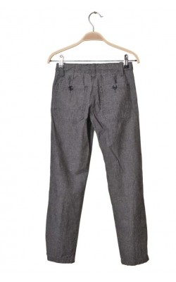 Pantaloni de in ecologic Zara, tallie ajustabila, 9 ani