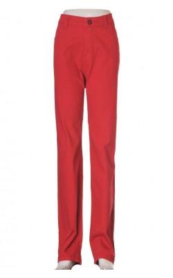 Pantaloni Deluca, talie normala, croi drept, marime 48