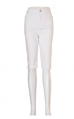Pantaloni denim alb Xlnt by Kappahl, marime 50