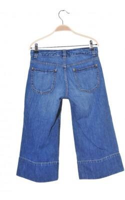 Pantaloni denim culotte Banana Republic, marime 34