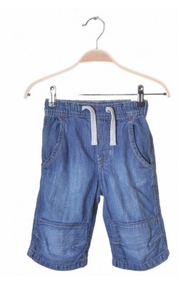 Pantaloni denim H&M shorts, 4-5 ani