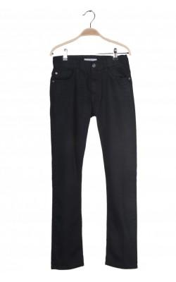 Pantaloni denim H&M Slim Fit, talie ajustabila, 11-12 ani