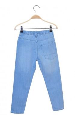 Pantaloni denim jogger H&M, 7 ani
